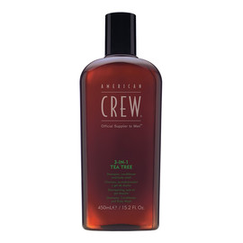 Szampon Odżywka i Żel do kąpieli z drzewa herbacianego dla mężczyzn 3w1