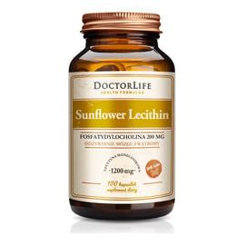 Sunflower lecithin lecytyna słonecznikowa 1200mg suplement diety 100 kapsułek