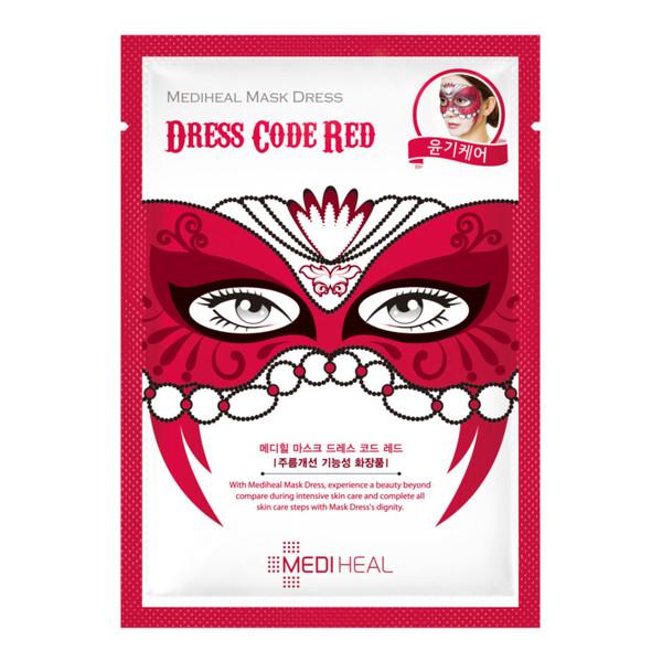 Mediheal Dress Code Red MASKA KARNAWAŁOWA ROZŚWIETLAJĄCO-ODMŁADZAJĄCA 27ml