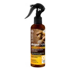 Spray Do Włosów Ułatwiający Rozczesywanie z Olejem Arganowym i Keratyną