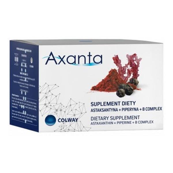 Colway Axanta astaksantyna + piperyna + B complex suplement diety 60 kapsułek