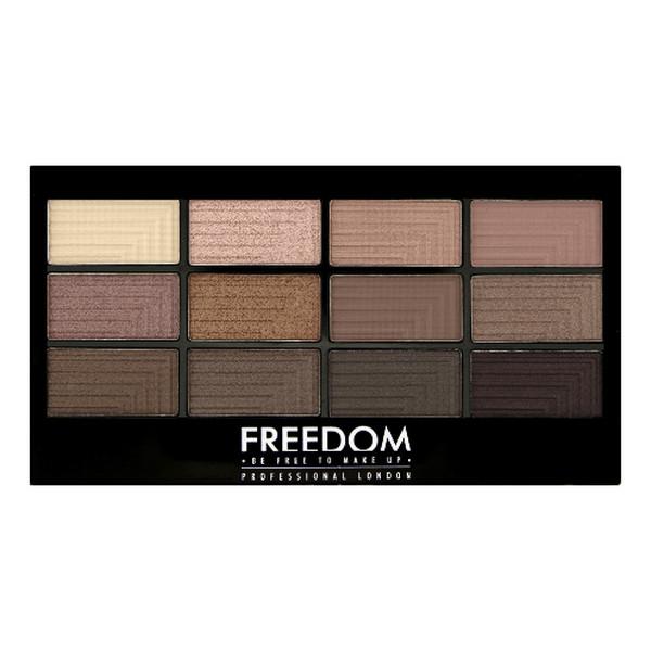 Freedom Makeup Pro Audacious 3 Paleta 12 cieni do powiek 12g