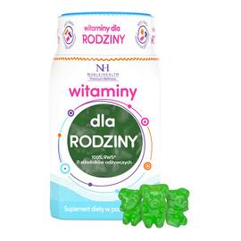 witaminy dla rodziny suplement diety w postaci żelek