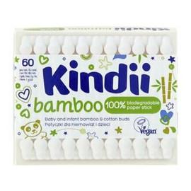 Bamboo Bambusowe Patyczki dla dzieci i niemowląt 1op.-60szt