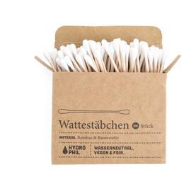 biodegradowalne bambusowe patyczki higieniczne do uszu 100szt