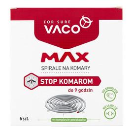 MAX Spirale na komary Stop Komarom 1op.-6szt