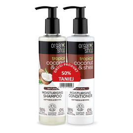 Zestaw szampon + odżywka Coconut