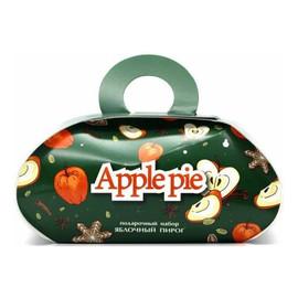 Zestaw podarunkowy Apple Pie - mydło glicerynowe + kula do kąpieli
