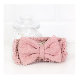 Opaska na włosy z mikrofibry Pink 1 szt