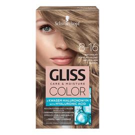 Krem koloryzujący do włosów 8-16 naturalny popielaty blond