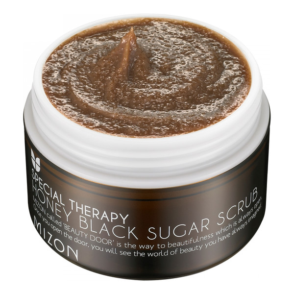 Mizon Honey Black Sugar Scrub Miodowy Peeling Z Brązowym Cukrem 80ml