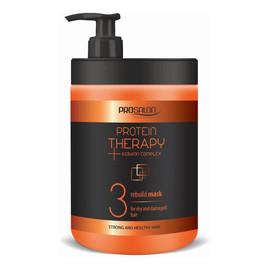 Protein Therapy Keratin Complex Keratyna 3 Mask For Dry And Damaged Hair Maska Odbudowująca Kreatyna & Ekstrakt Z Aloesu