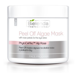 Peel-Off Algae Mask maska algowa na okolice oczu z płatkami róży