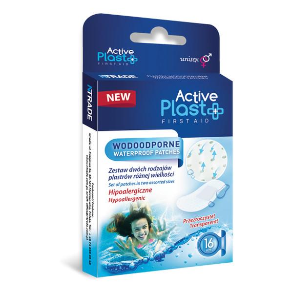 Active Plast First Aid Plastry Opatrunkowe Wodoodporne