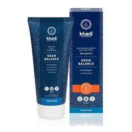 Przeciwłupieżowy szampon do włosów Khadi - Neem