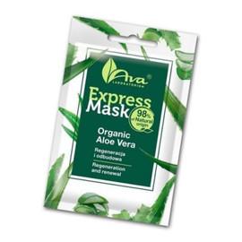 Aktywna maska na bazie organicznego soku z aloesu