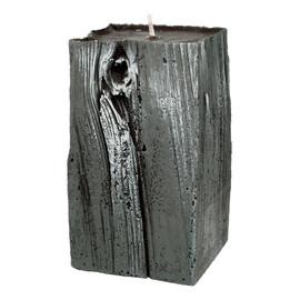 Świeca ozdobna Sandalwood wenge drewno - słupek mały