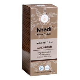 Naturalna Ziołowa Henna do Włosów Dark Brown Ciemny Brąz