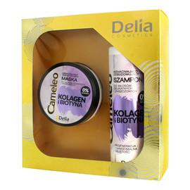 Zestaw prezentowy Kolagen i Biotyna szampon + maska