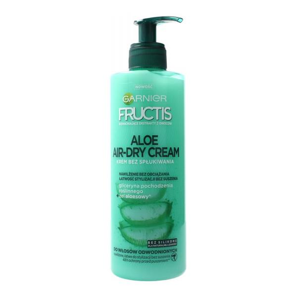 Garnier Fructis Aloe Air-Dry Cream Krem nawilżający do włosów odwodnionych 400ml