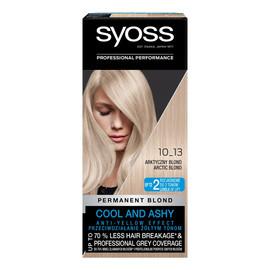 Permanent blond farba do włosów trwale koloryzująca 10_13 arktyczny blond