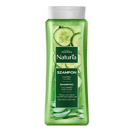 Naturia szampon do włosów normalnych i przetłuszczających się ogórek i aloes