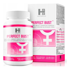 Perfect bust suplement diety naturalnie powiększający biust 90 tabletek