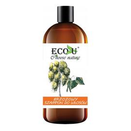 Brzozowy szampon do włosów przetłuszczających się