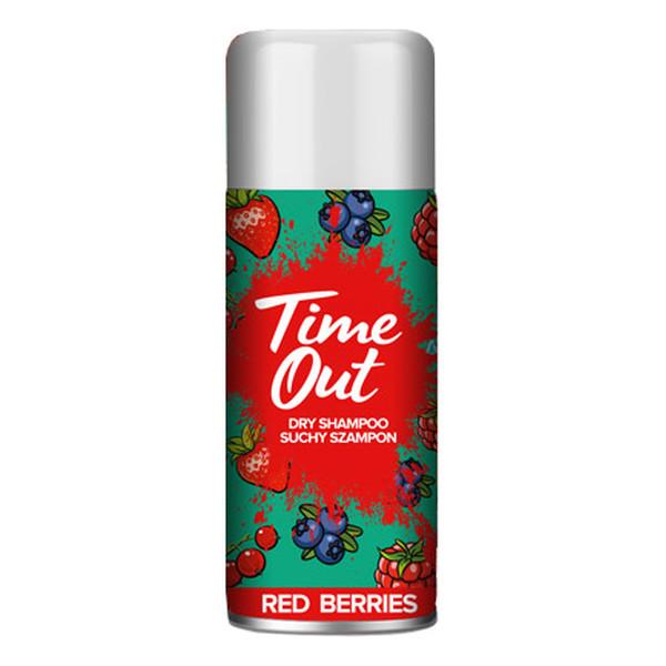 TIME OUT Suchy Szampon do włosów red berries 75ml