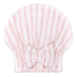 Czepek do włosów z mikrofibry Pink