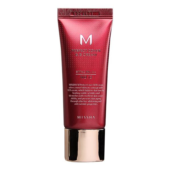 Missha M Perfect Cover BB Cream SPF42/PA+++ Krem BB z wysoką ochroną UV 20ml