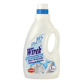 płyn do prania białych tkanin