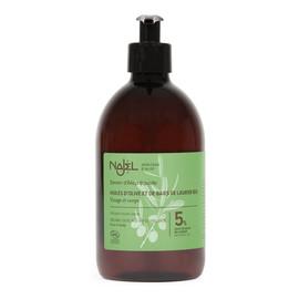 Mydło oliwkowo-laurowe w płynie 5% oleju laurowego BIO