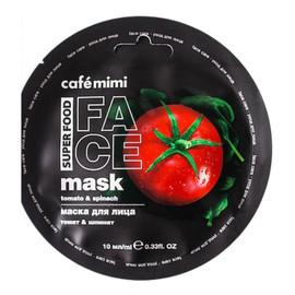 Maska do twarzy Pomidor & Szpinak