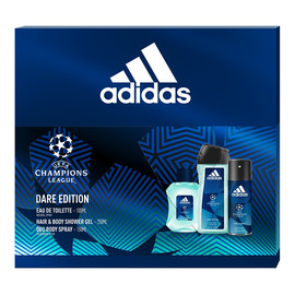 Zestaw woda toaletowa spray 100ml + żel pod prysznic 250ml + dezodorant spray 150ml