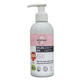 Płyn do mycia ciała i higieny intymnej dla dziewczynek