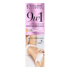 9in1 ultradelikatny krem do depilacji rąk i nóg z bio olejkiem z bawełny