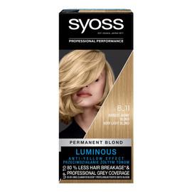 Permanent blond farba do włosów trwale koloryzująca 8_11 bardzo jasny blond