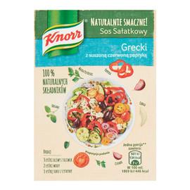 sos sałatkowy Grecki z suszoną czerwoną papryką