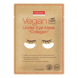 Vegan under eye mask Wegańskie płatki pod oczy z kolagenem 30szt
