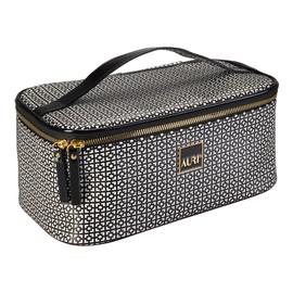 Simple Black & White kuferek kosmetyczny średni