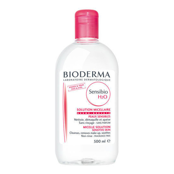 Bioderma Sensiobio H2O Płyn Micelarny Do Demakijażu Do Cery Wrażliwej 500ml