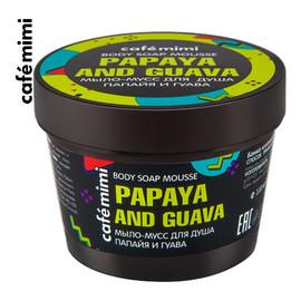 Mydło-mus pod prysznic Papaja i Guawa