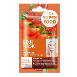 Odmładzająca maska do twarzy, Goji