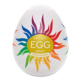 Egg shiny pride edition jednorazowy masturbator w kształcie jajka
