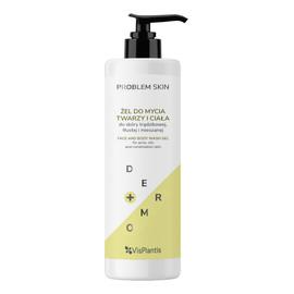 Problem Skin Żel do mycia twarzy i ciała - do skóry trądzikowej,tłustej i mieszanej