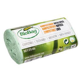 Worki na odpady organiczne i zmieszane, 100% biodegradowalne i kompostowalne,idealne do MaxAirII, 6L rolka 30 szt