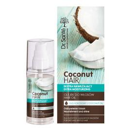 olejek do włosów z olejem kokosowym