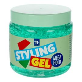 Żel do modelowania włosów mega hold zielony