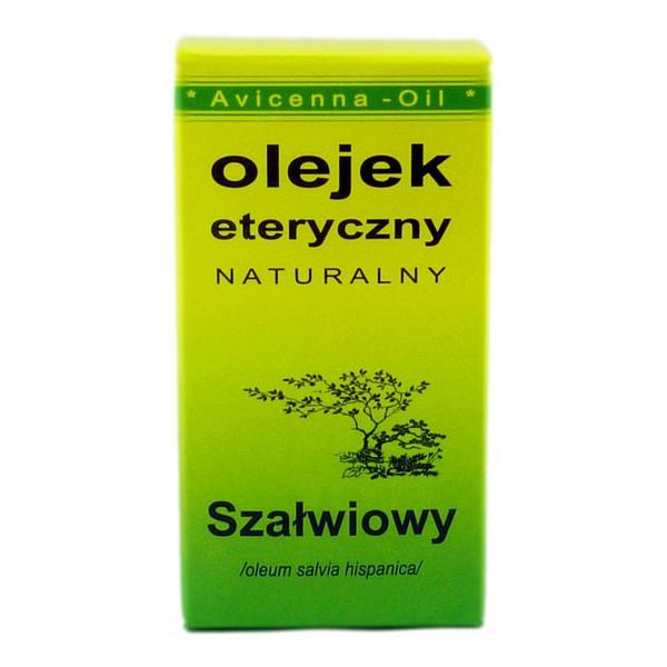 Avicenna-Oil Naturalny Olejek Eteryczny Szałwiowy 7ml